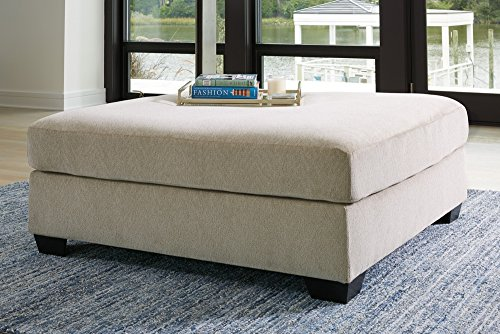 - Signature Design by Ashley 6150008 Ashley Furniture Signature Design-Enola Oversized Accent Ottoman, Sepia