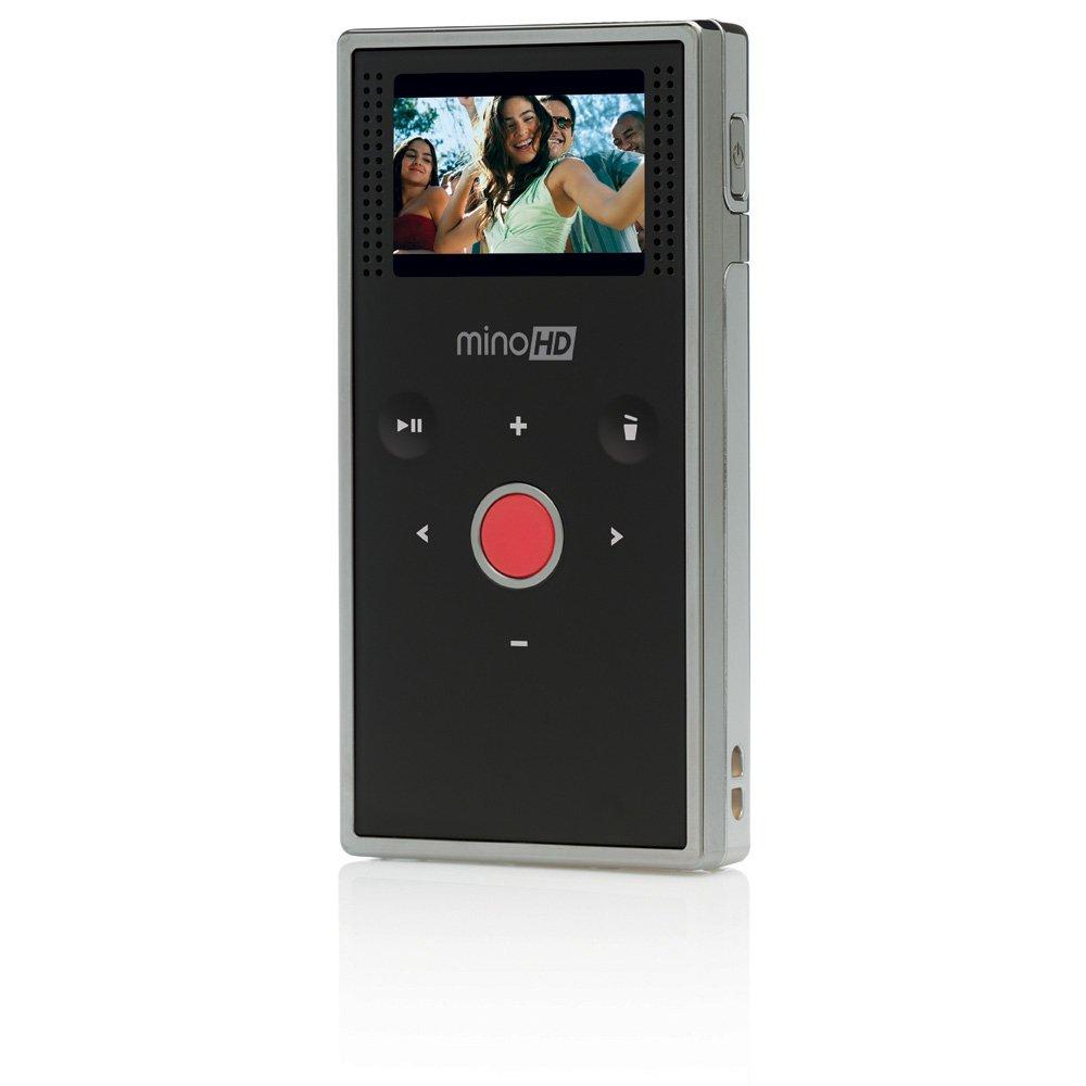 Amazon.com : Flip MinoHD Video Camera - Chrome, 4 GB, 1 Hour (1st  Generation) : Camcorders : Camera & Photo