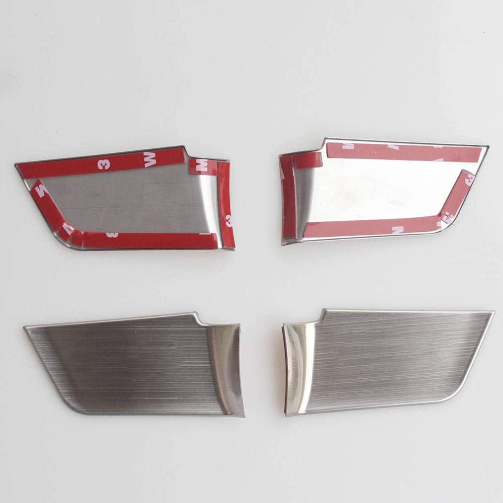 4 Piezas Manija de la Puerta Interior del autom/óvil Acero Inoxidable Taz/ón Etiqueta Adhesiva Accesorios de protecci/ón HOWEHORC para Toyota RAV4 RAV 4 2019 2020 5th