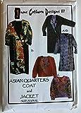 June Colburn Designs 3151, Asian Quarters Coat & Jacket Size:XS-XL