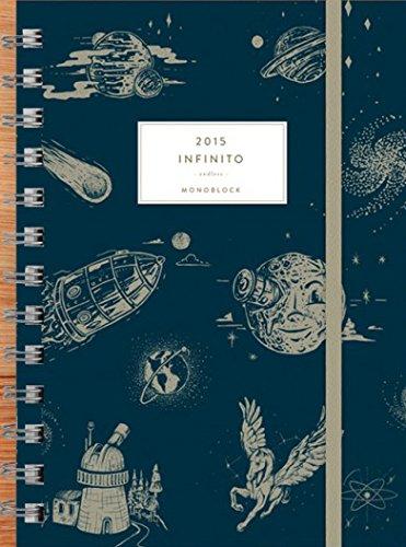 Agenda anillada Infinito 2015 (Spanish Edition)