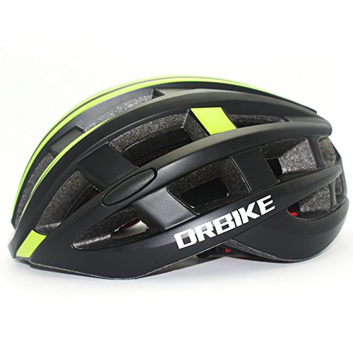 Adult Cycling Helmet DRBIKE Adjustable Bicycle Helmet with LED Safety Light for Men & Women