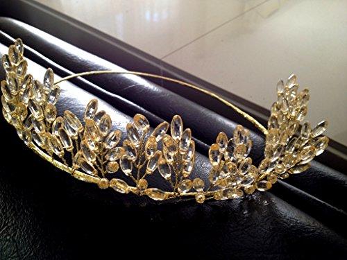 MeeTHan Ribbon Flower Crown Tiara Headband : SP10