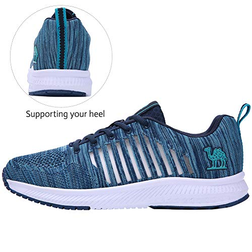 CAMEL CROWN Trail Running Shoes Men Super Lightweight Comfortable Tennis Shoes Fashion Mesh Breathable Casual Road Running Shoes for Men