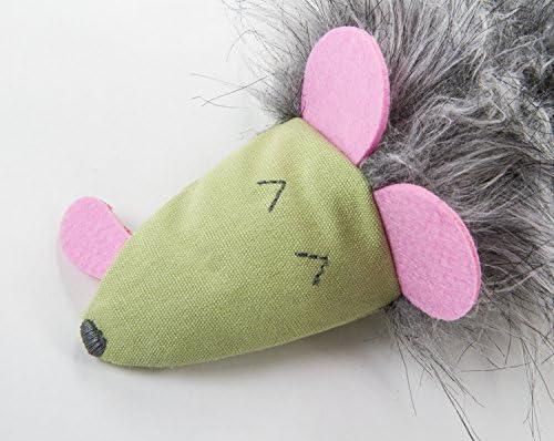 SmartyKat Kicked Critter Kicker Plush Cat Toy 5