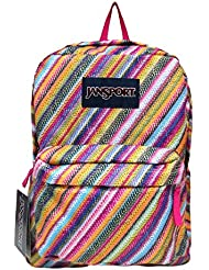 Jansport Superbreak Backpacks! (Multi Texture Stripe)
