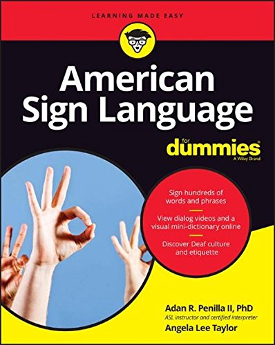 American Sign Language For Dummies, + Videos (For Dummies (Lifestyle)) cover