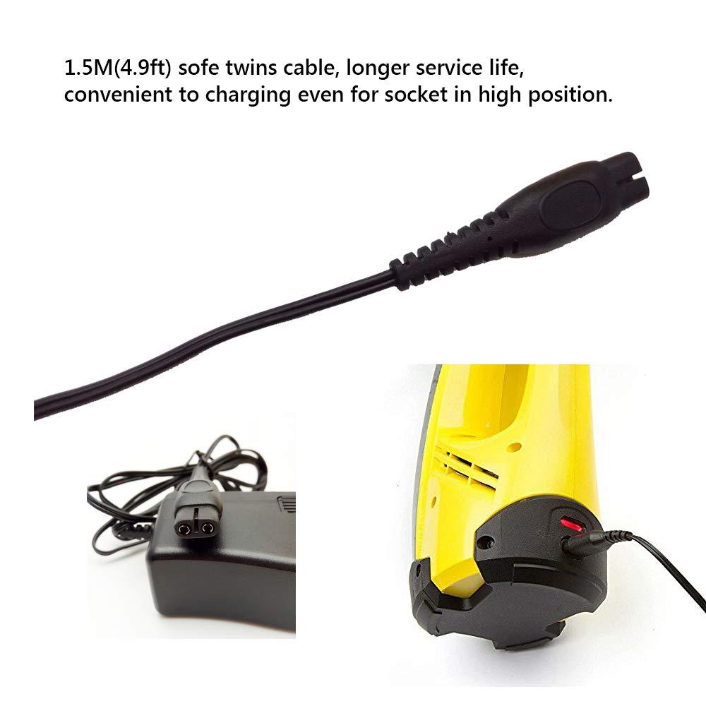 Festnight K/ärcher 5.5V Battery Chargeur Adaptateur Secteur pour Karcher Window Vac