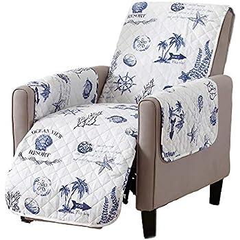 Amazon Com Sofa Saver Coastal Reversible Stain Resistant
