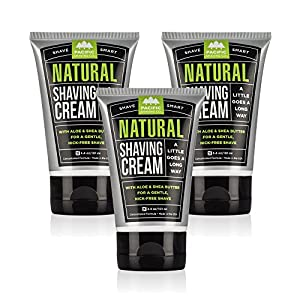 Pacific Shaving Company - 3 PACK Natural Shaving Cream. This is the Best Shaving Cream (There. We Said it.)
