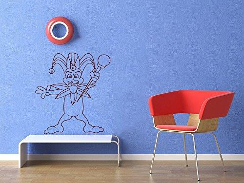 ecal Jester Art Design Nursery Room Nice Picture Decor Hall Wall Ki137 (Jester Letters)