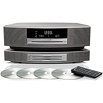 bose wave radio ii platinum white electronics. Black Bedroom Furniture Sets. Home Design Ideas