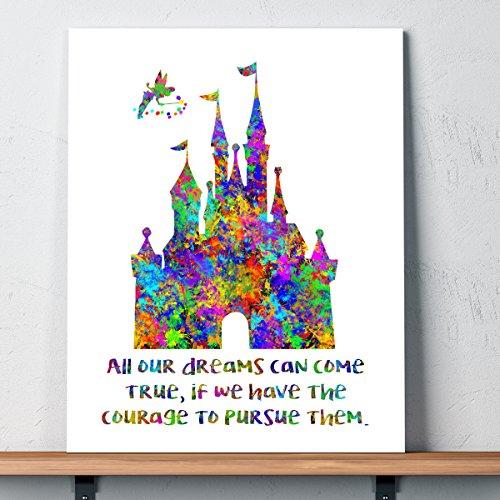 Disney Castle Dreams Splatter Watercolor product image