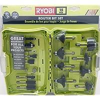 Router Bit Set (15-Piece) by Techtronic Industries, Co. Ltd.