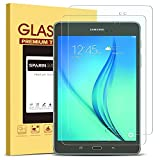 [2 Pack] Galaxy Tab A 8.0 Screen Protector, SPARIN Tempered Glass / Anti-Scratch / 9H Hardness / HD Clear Screen Protector for Samsung Galaxy Tab A 8.0 (SM-T350) 2015,2016 version