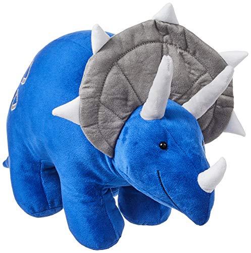 "GUND Charger Dinosaur Triceratops Stuffed Animal Plush, Blue, 20"""