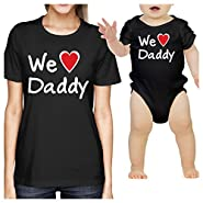 365 Printing Dad Baby Matching Clothes Gift Ideas For Fathers Day Unique Design