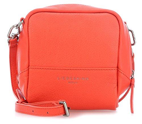 Liebeskind Acapulco Mini Bag Sac en bandoulière en cuir 15 cm Orange_orange, Orange