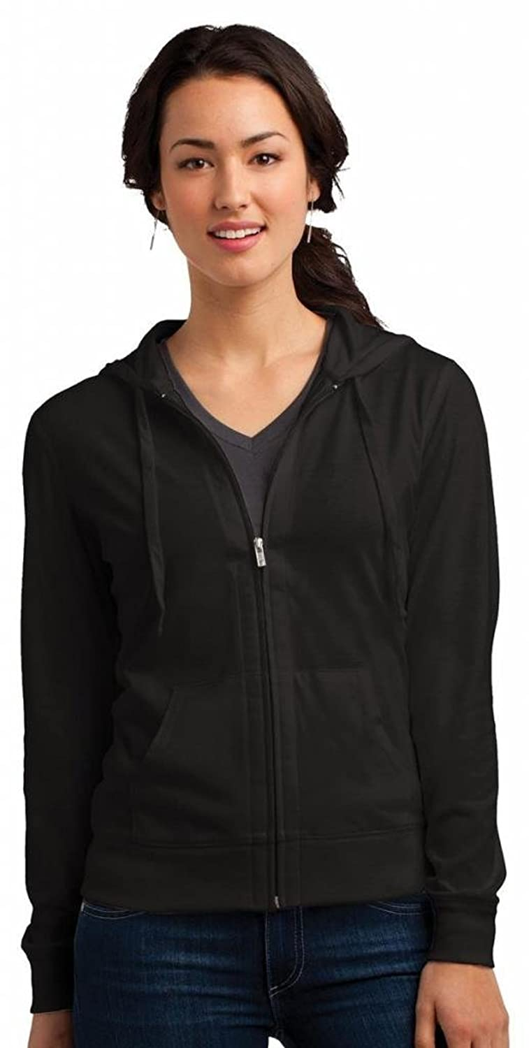 Nice District Women's Lightweight Full-Zip Drawstring Hoodie free shipping