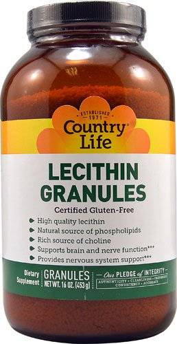 Country Life Lecithin Granules -- 16 oz - 3PC