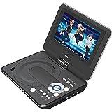 NAXA NPD952 9 TFT LCD Swivel-Screen Portable DVD Player - ONE YEAR Warranty