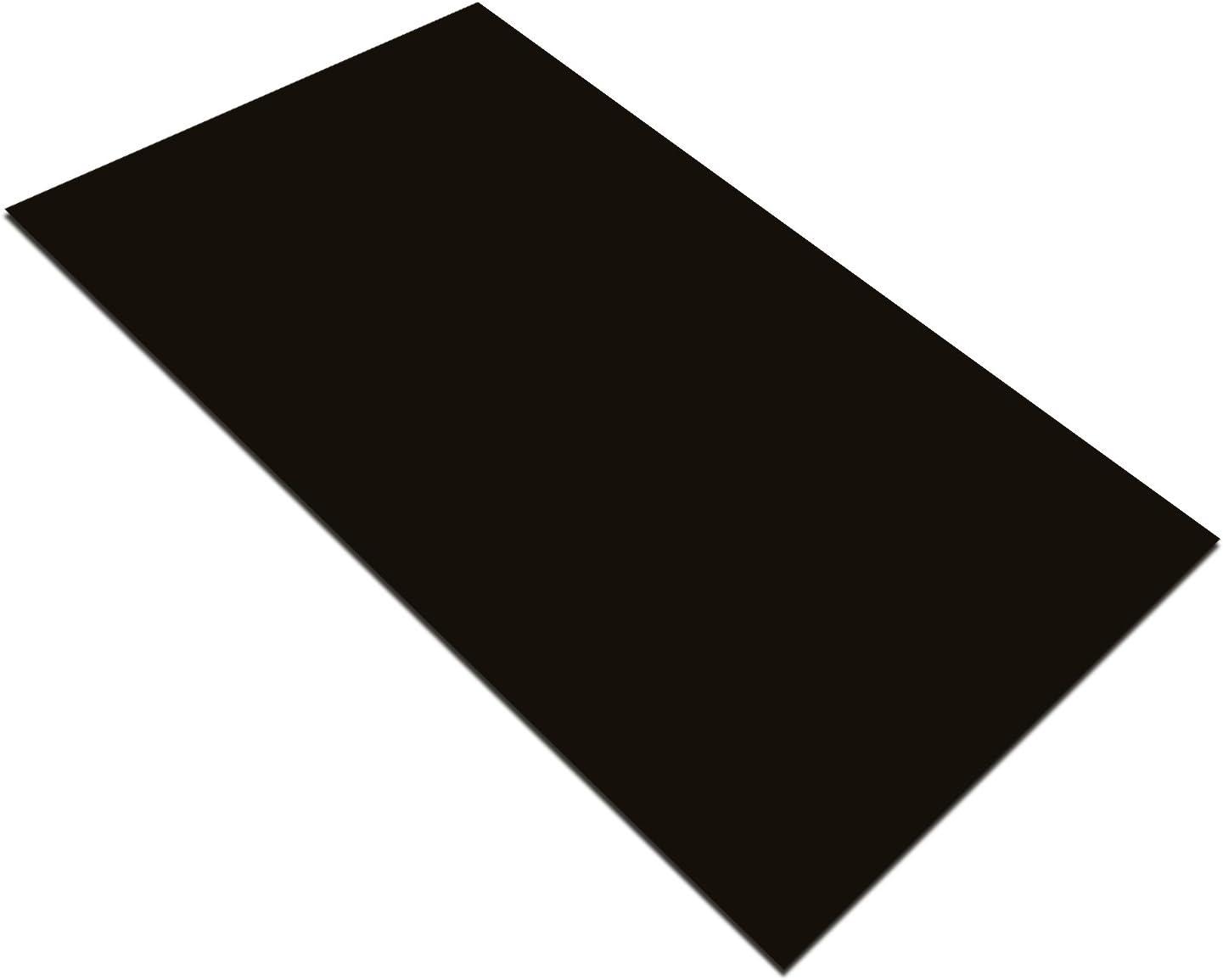 Bodenfliesen Majesta Schwarz Uni Poliert 30x60cm