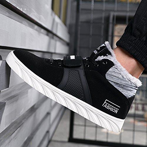 CN39 EU39 Scarpe Shoes uomo Le calzature Cotton 3 Nero Movement FEIFEI sportive Invernali Colors Colore da Warm Keep UK6 Leisure dimensioni Nero UxURqtw