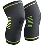 Adults Sports Fitness Knee Protection, Joint Pain Relief, Faster Injury Recovery, Adjustable Compression, Outdoor Knee Climbing, Weightlifting, Powerlifting, Squats, Running, Volleyball, ect. (XL)