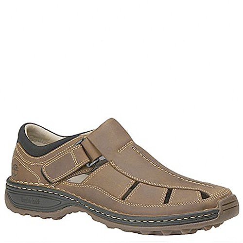Timberland Men's Altamont Fisherman Sandal,Light Brown,10 W US