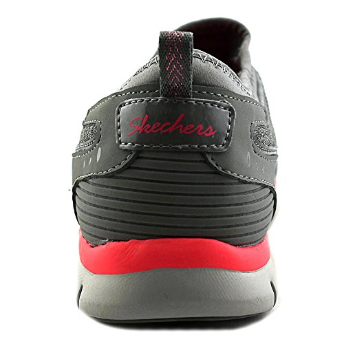 Skechers Womens Slip-on Sneaker Gris / Rose