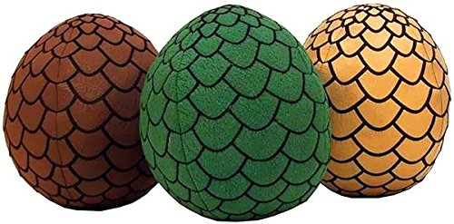 Game of Thrones - Dragon Egg Plush Assortment Set of 3