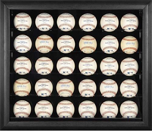 (Black Framed 30 Baseball Display Case - Fanatics Authentic Certified - Baseball Display Cases No Logo )