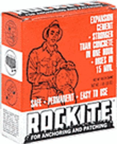 Cement Setting Fast Rockite (CRL Rockite Cement - 1 Pound Box)