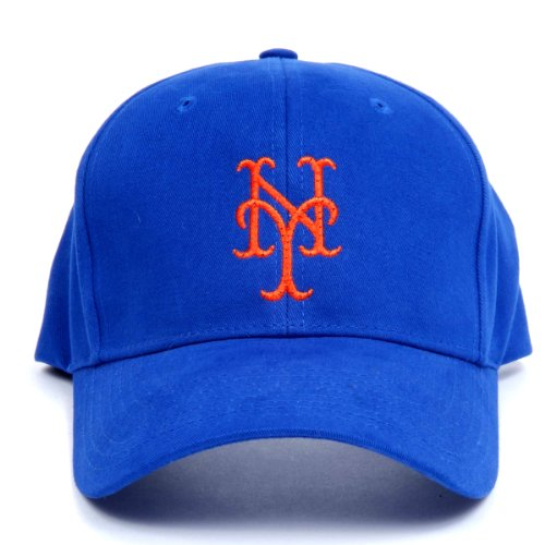 UPC 699000420620, MLB New York Mets LED Light-Up Logo Adjustable Hat