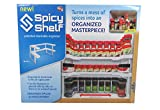 Spicy Shelf Patented Spice Rack and Stackable Organizer (1, Single Pack)