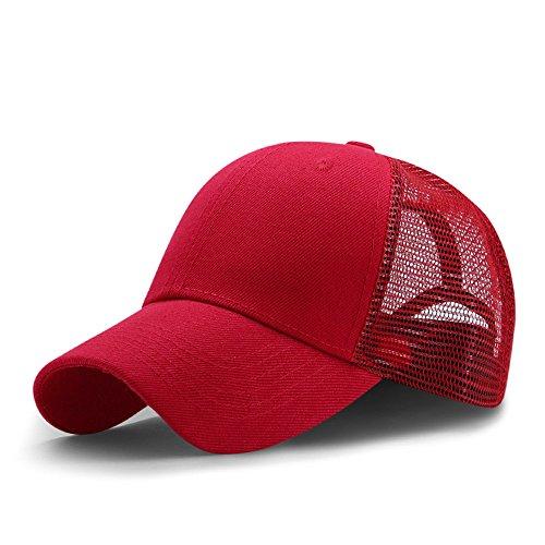 FUNY Men and Women Snapback Baseball Cap Outdoor Sports Mesh Hat