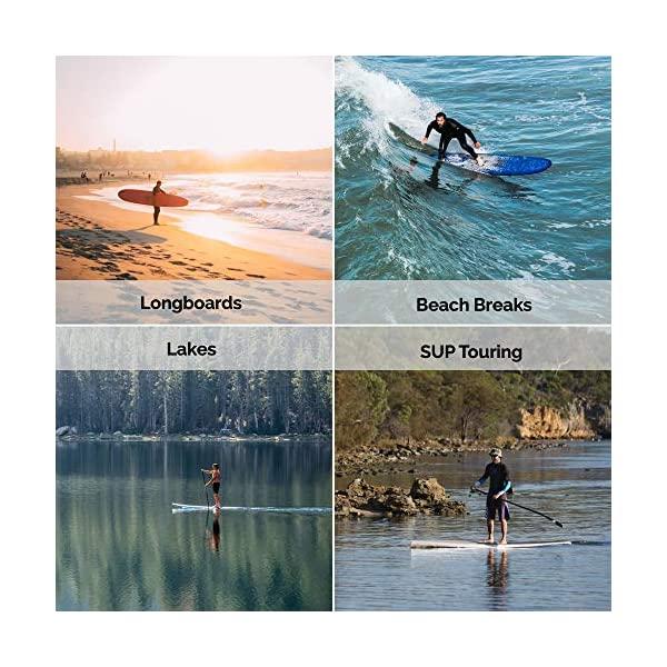 Eisbach Riders SUP - Longboard con pinna singola pinna americana – Stand Up Paddling Center Finin con vite a pinna… 6 spesavip