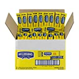 Hellmanns Real Mayonnaise Stick Packets, 0.38 ounce 210 counts per case.