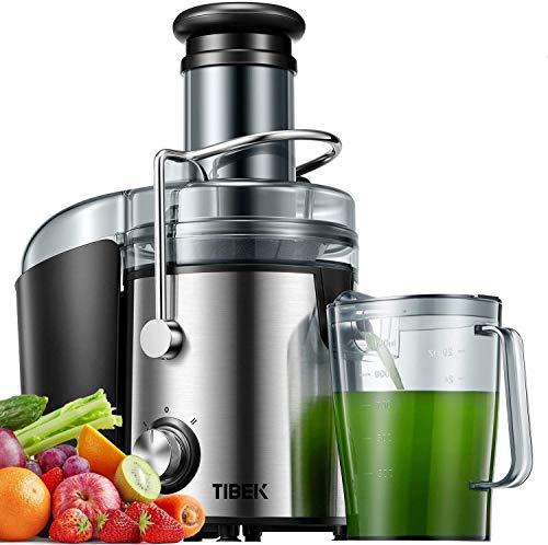 Aicok Centrifuga Frutta e Verdura, 800W Potente Estrattore di Succo Freddo con 75MM Bocca Larga, Piedi Anti-scivolosi e… 1