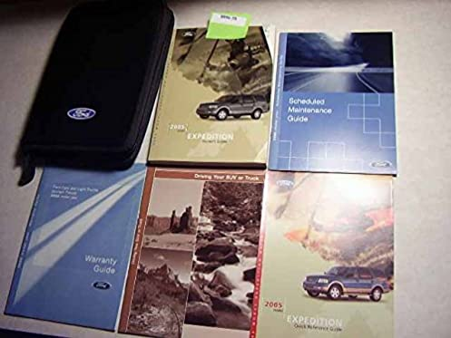 2005 ford expedition owners manual ford motor company amazon com rh amazon com 2005 ford expedition service manual 2003 Ford Expedition Owner's Manual