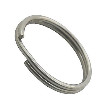 1000 Stück Schlüsselringe 30mm vernickelt gehärtet Schlüsselring Split Key Ring