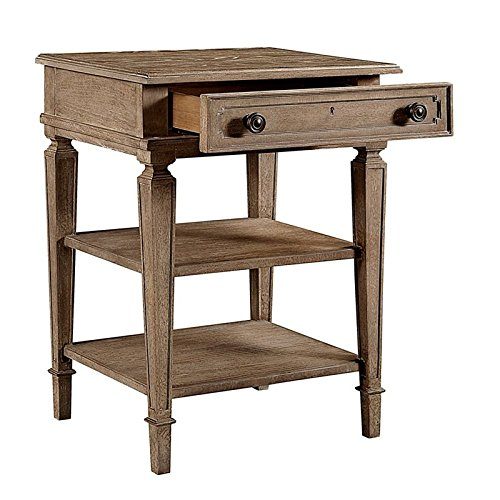 Stanley Furniture Wethersfield Estate Telephone Table in Brimfield Oak by Stanley Furniture (Image #3)