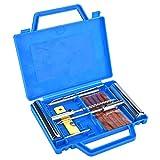 Akozon 13Pcs Tire Repair Kit Tyre Repairing Tool Set Handle Tire Plug Kit