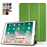 TNP iPad Mini 4 Case (Green) - Ultra Slim Lightweight Folio Smart Cover Stand with Auto Sleep Wake Feature and Hard Rubberized Back for Apple iPad Mini 4 7.9 Inch Tablet 2015 Release