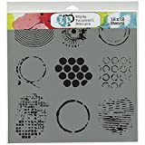 Crafters Workshop Plastic Template 12-inch x 12-inch Well Rounded by The Crafter's Workshop