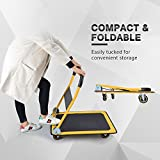 Push Cart Dolly by Wellmax, Moving Platform Hand