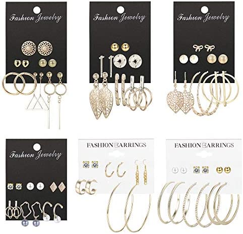 ORAZIO Earrings Assorted Multiple Crystal product image