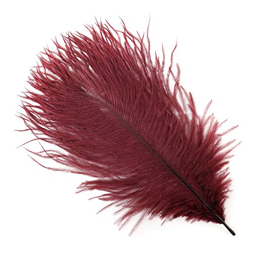 (Zucker Feather (TM) - Ostrich Feathers-Drabs Selected - Burgundy)