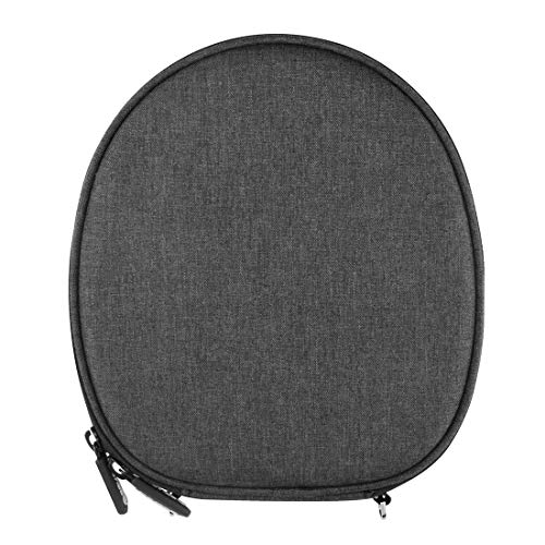 Geekria Carrying Case Compatible with Sony WI1000X H700 C400 Sbh70 EX750BT, Audioxa, LEOPHILE EEL IP67, Titimor Ansot M1, Bluenin HiFi Neckband Wireless Headset/Protective Travel Bag (Dark Grey)