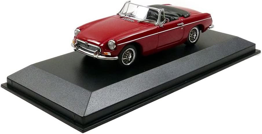 1962-Red Minichamps 1:43 MGB cabriolet